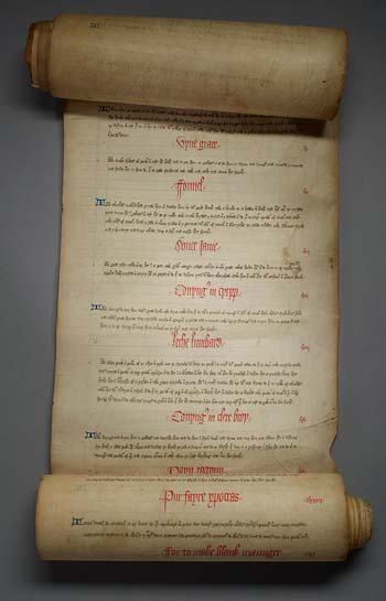 Image of Cookery Scroll