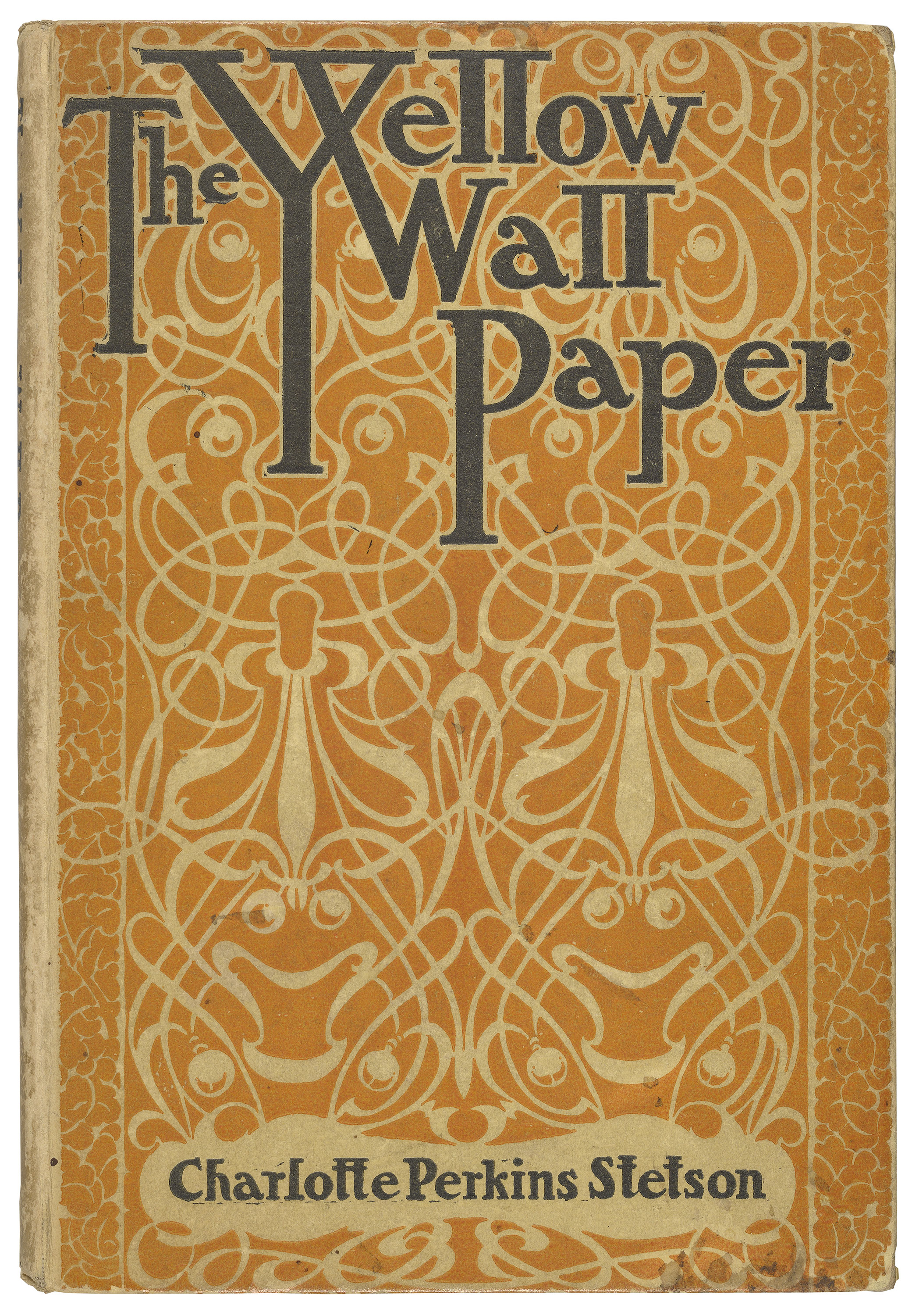 an analysis of the topic of the short story the yellow wallpaper by charlotte perkins gilman