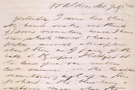 Hand-written page of text dated at top.