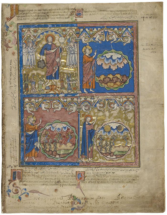 Manuscript   The Crusader Bible   The Morgan Library & Museum