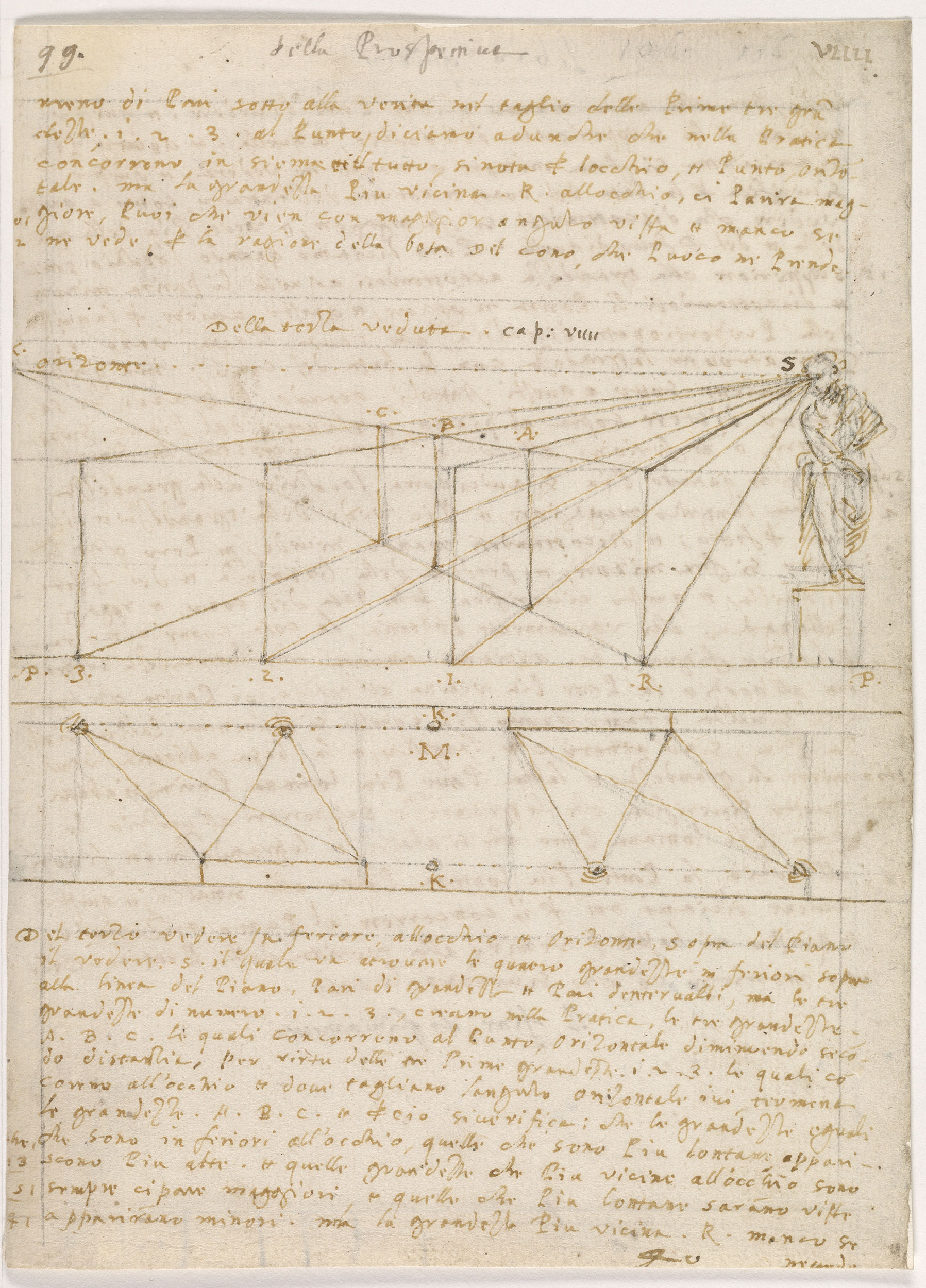 fol  99   Leonardo da Vinci and the Codex Huygens   The Morgan