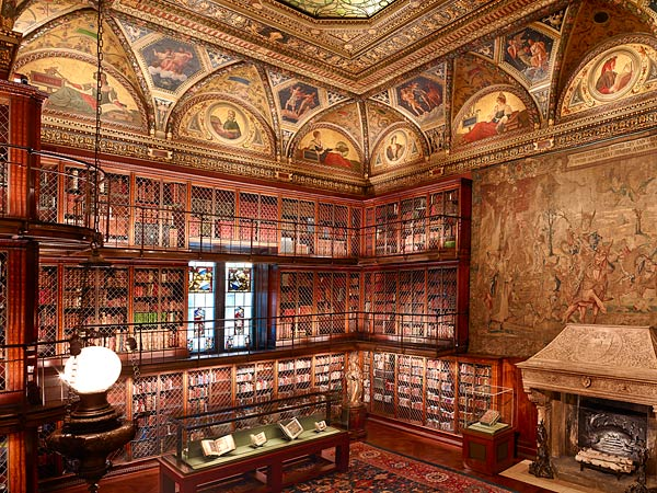 Beginning in June 2010, The Morgan Library & Museum's iconic McKim building,  constructed more