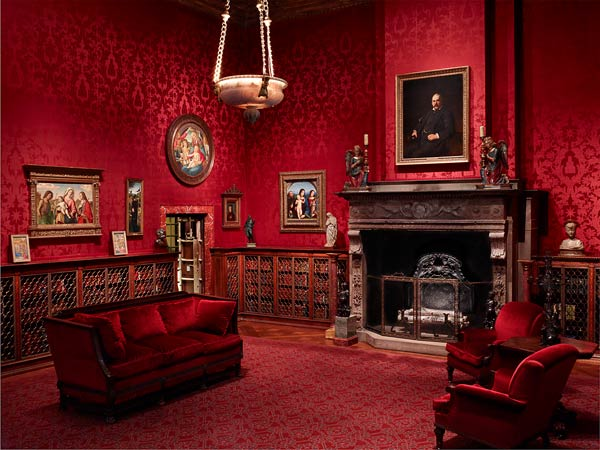 Room Red the west room | pierpont morgan's 1906 library | the morgan