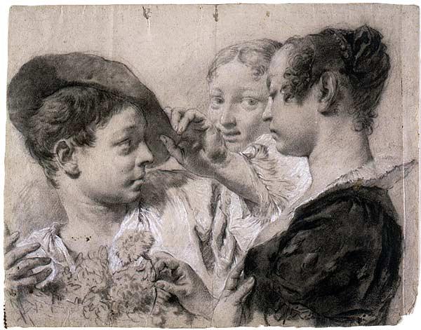 Image of Giovanni Battista (Giambattista) Piazzetta drawing
