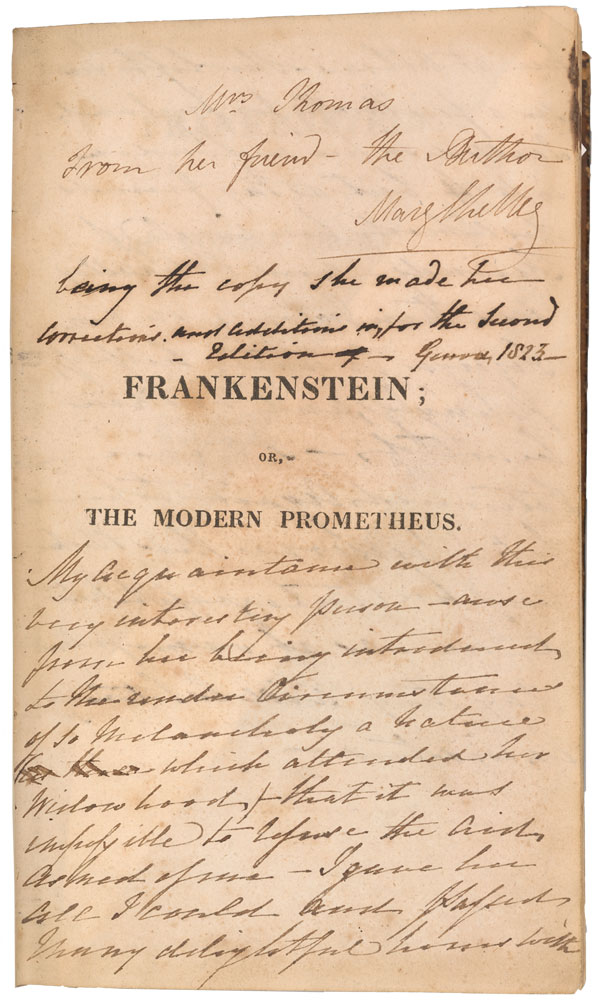 What Would Halloween Be Without Monsters And Mary Shelleys Frankenstein 1818 The Work Has Been Cited As Most Widely