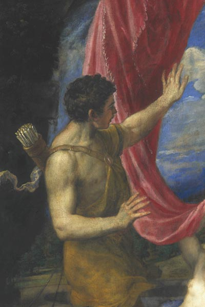 Detail of Titian painting