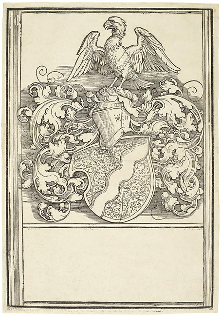 Albrecht Dürer (1471–1528) Coat of Arms of Michael Behaim, ca. 1520