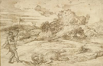 Image of Titian drawing