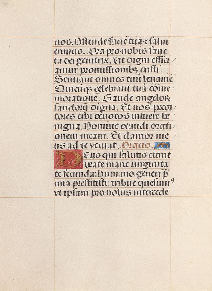 MS M 399, fol  155v | Da Costa Hours | The Morgan Library & Museum