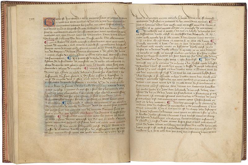 Ms M 461 Fols 33v 34r Livre Des Merveilles Du Monde