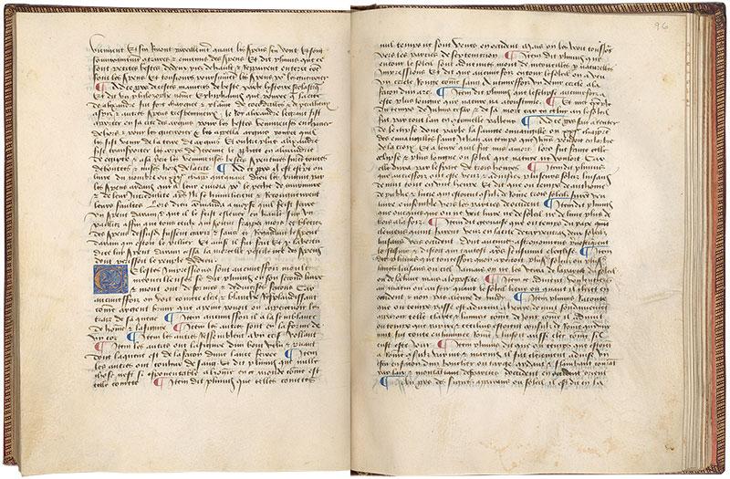 Ms M 461 Fols 95v 96r Livre Des Merveilles Du Monde