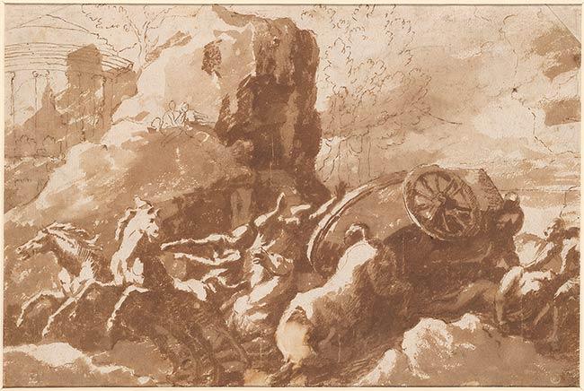 Nicholas Poussin, Death of Hippolytus