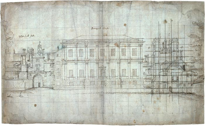 Library Room Drawing