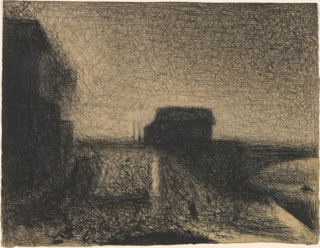 Georges Seurat Approach To The Bridge At Courbevoie