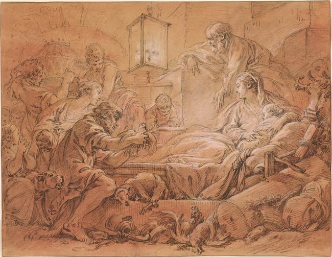fran231ois boucher the nativity drawings online the