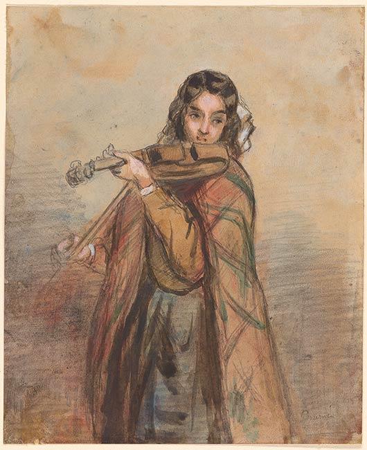 Paul Gavarni La Chanteuse Des Caf 233 S Drawings Online