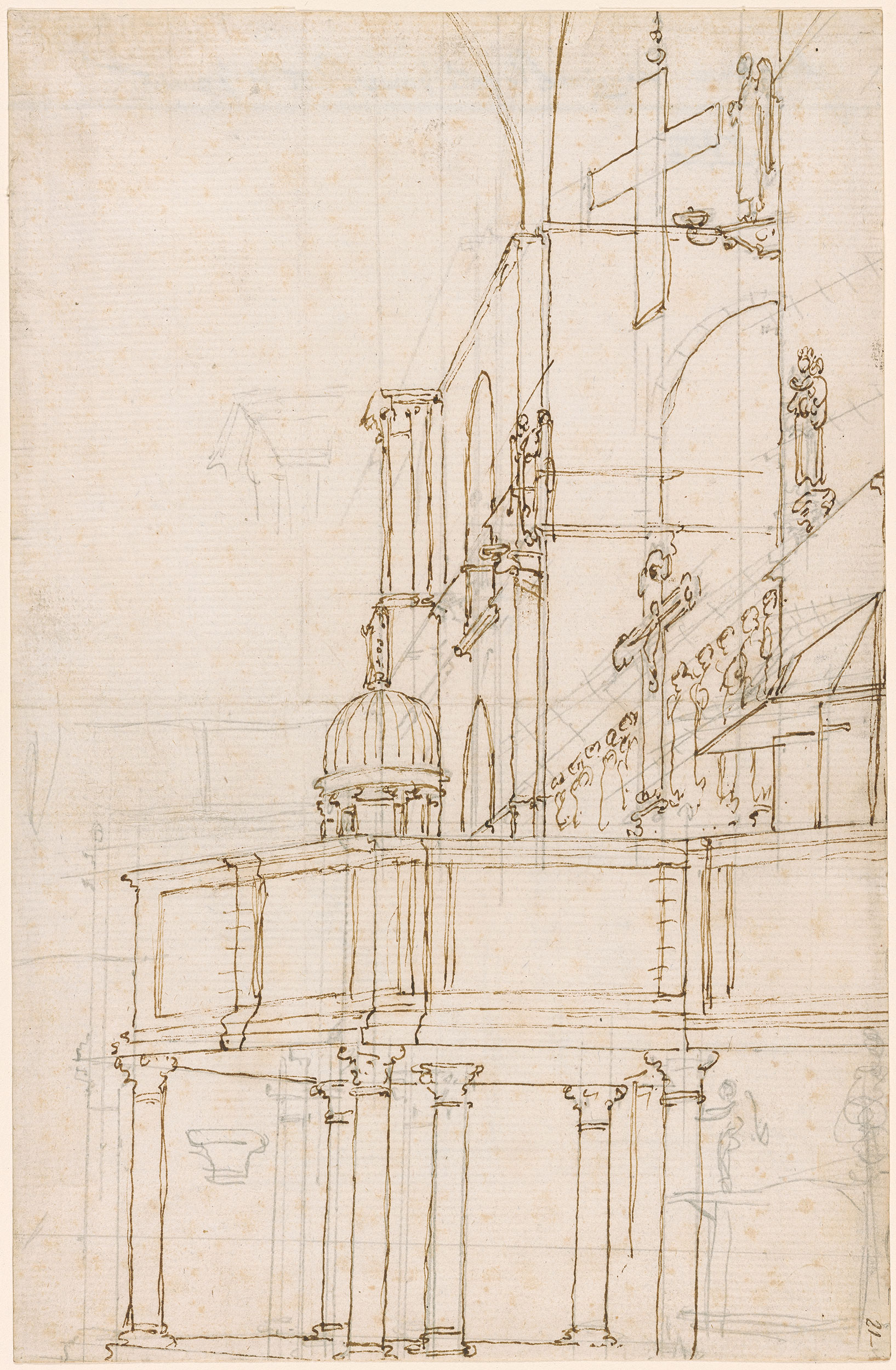Canaletto The South Pulpit In San Marco Venice