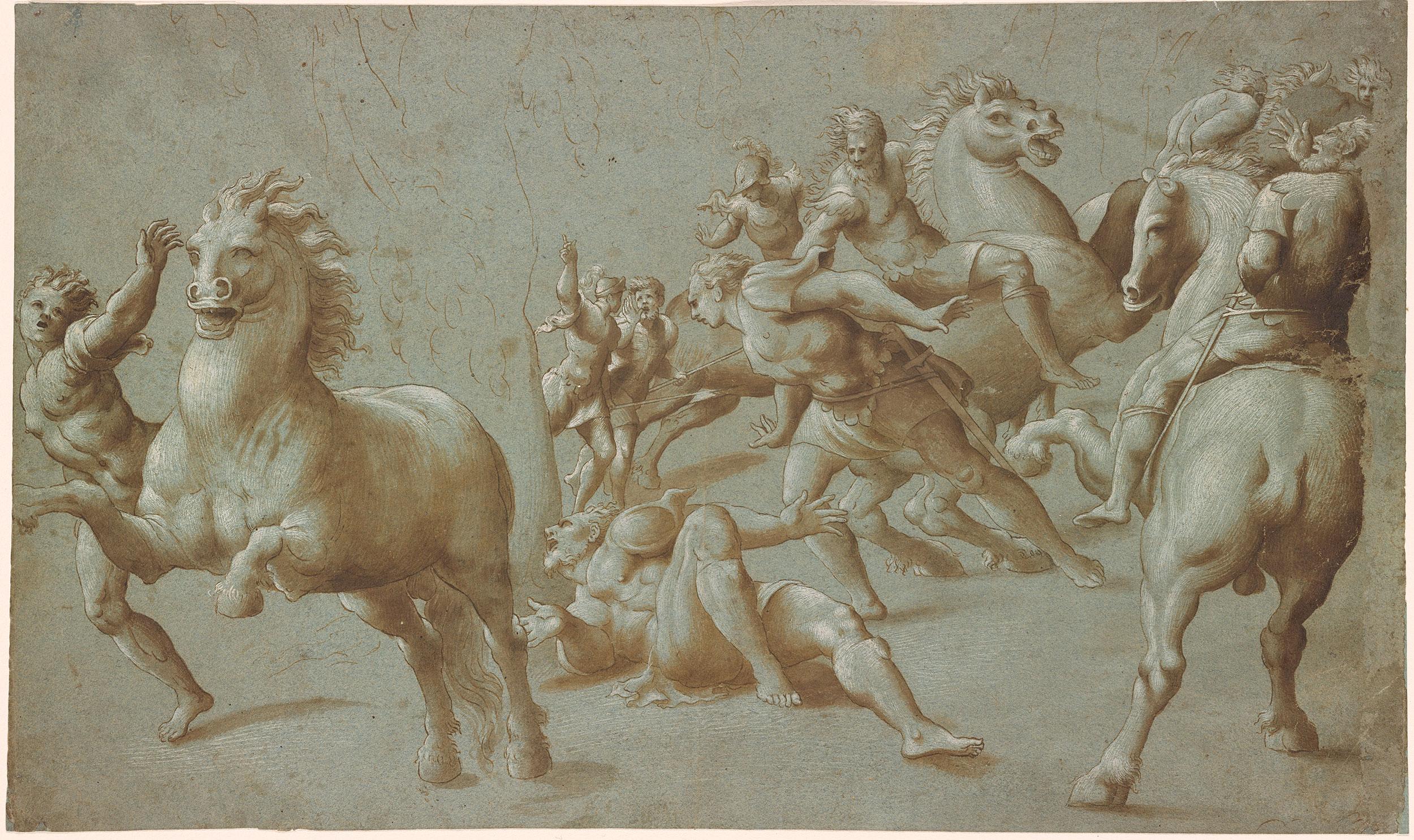 After Giovanni Antonio Pordenone Conversion Of St Paul
