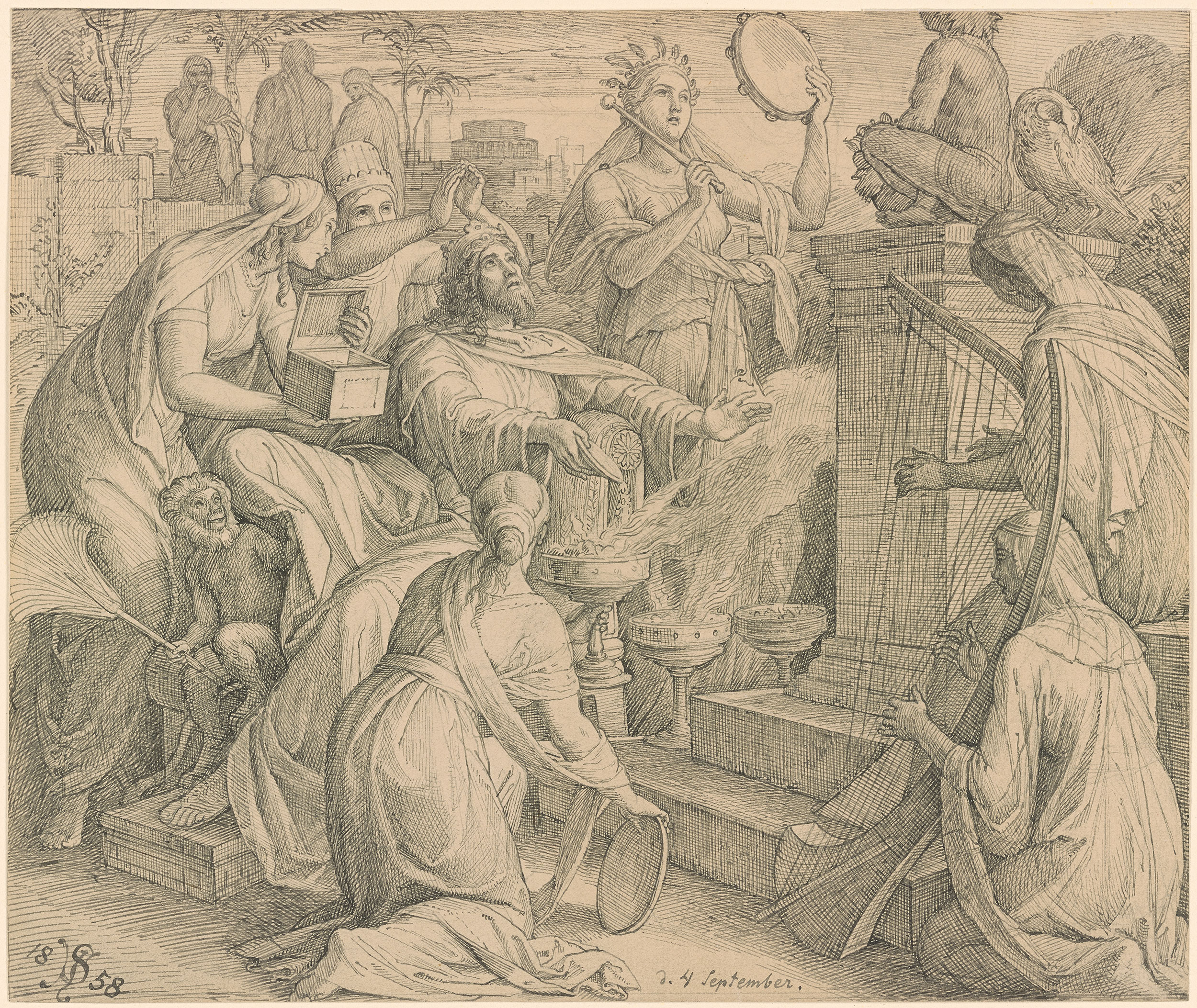 Julius Schnorr Von Carolsfeld Drawings 144783v_0001.jpg