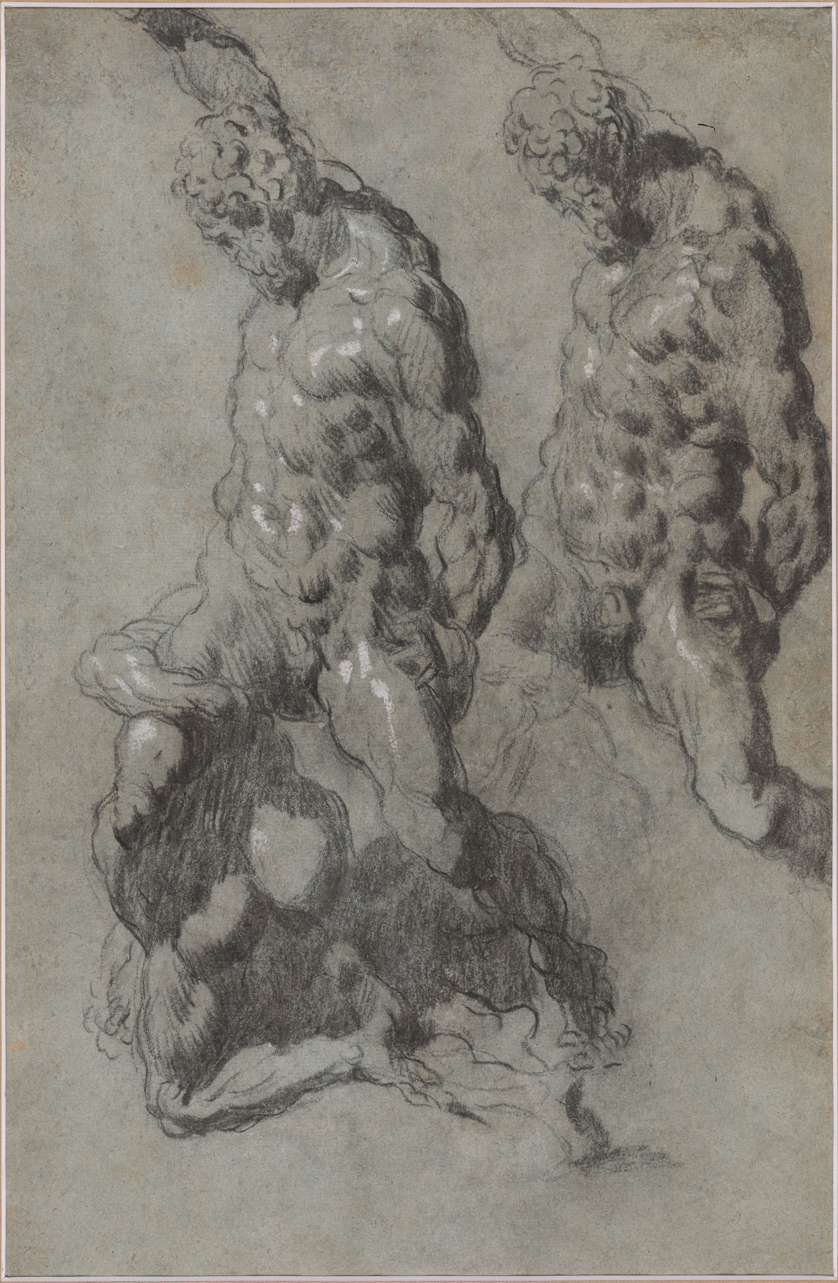 London Drawing Room: Studies Of Michelangelo's Samson And