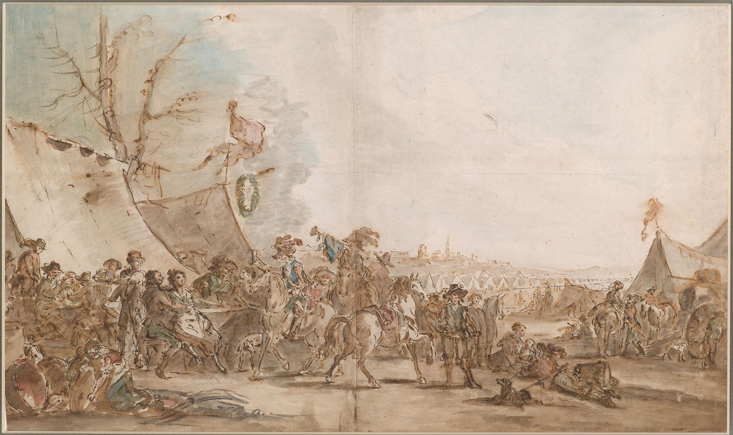 La vie interne au corps dans les armées de Louis XV 301395v_0001