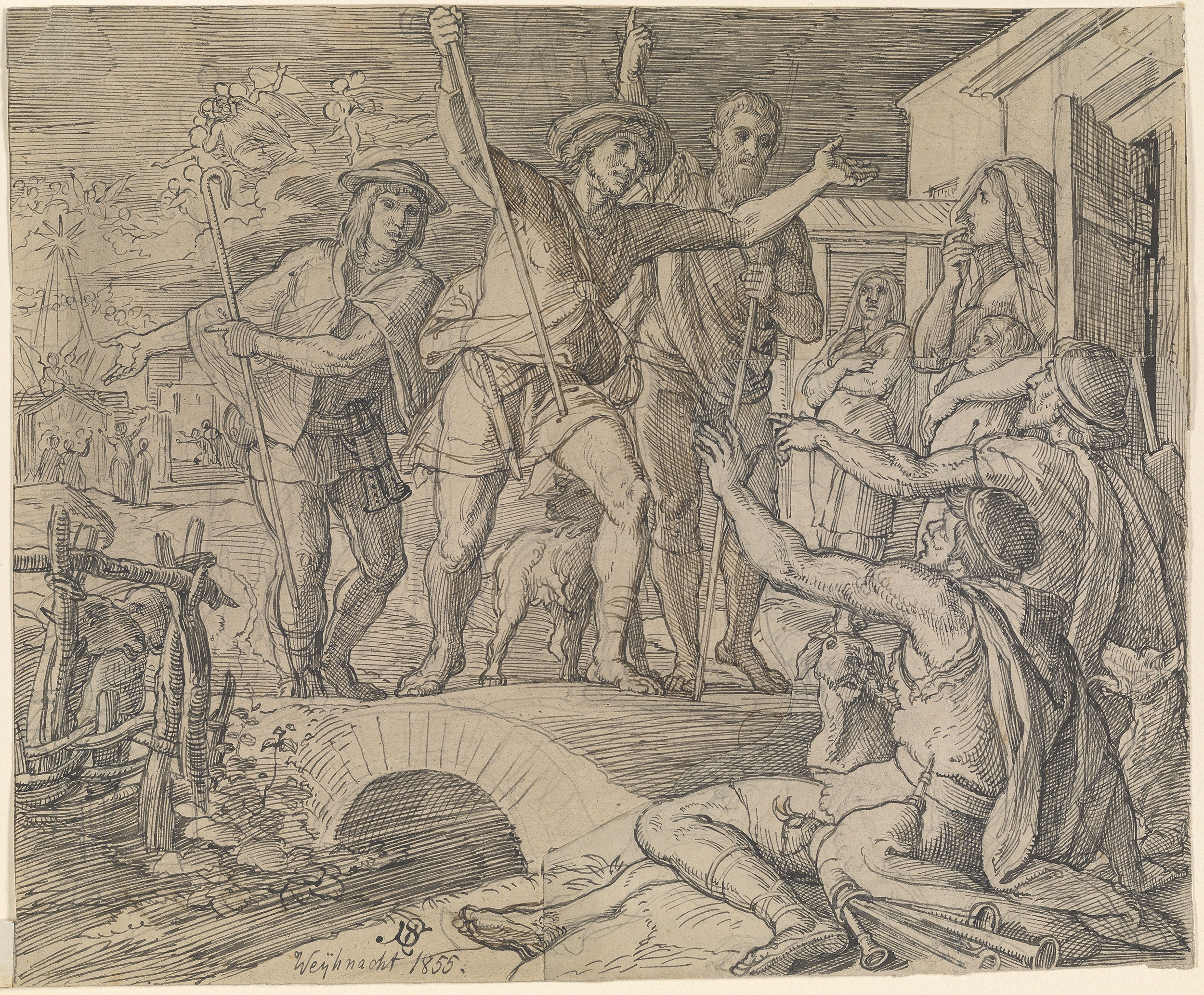 Julius Schnorr Von Carolsfeld Drawings 327661v_0001.jpg