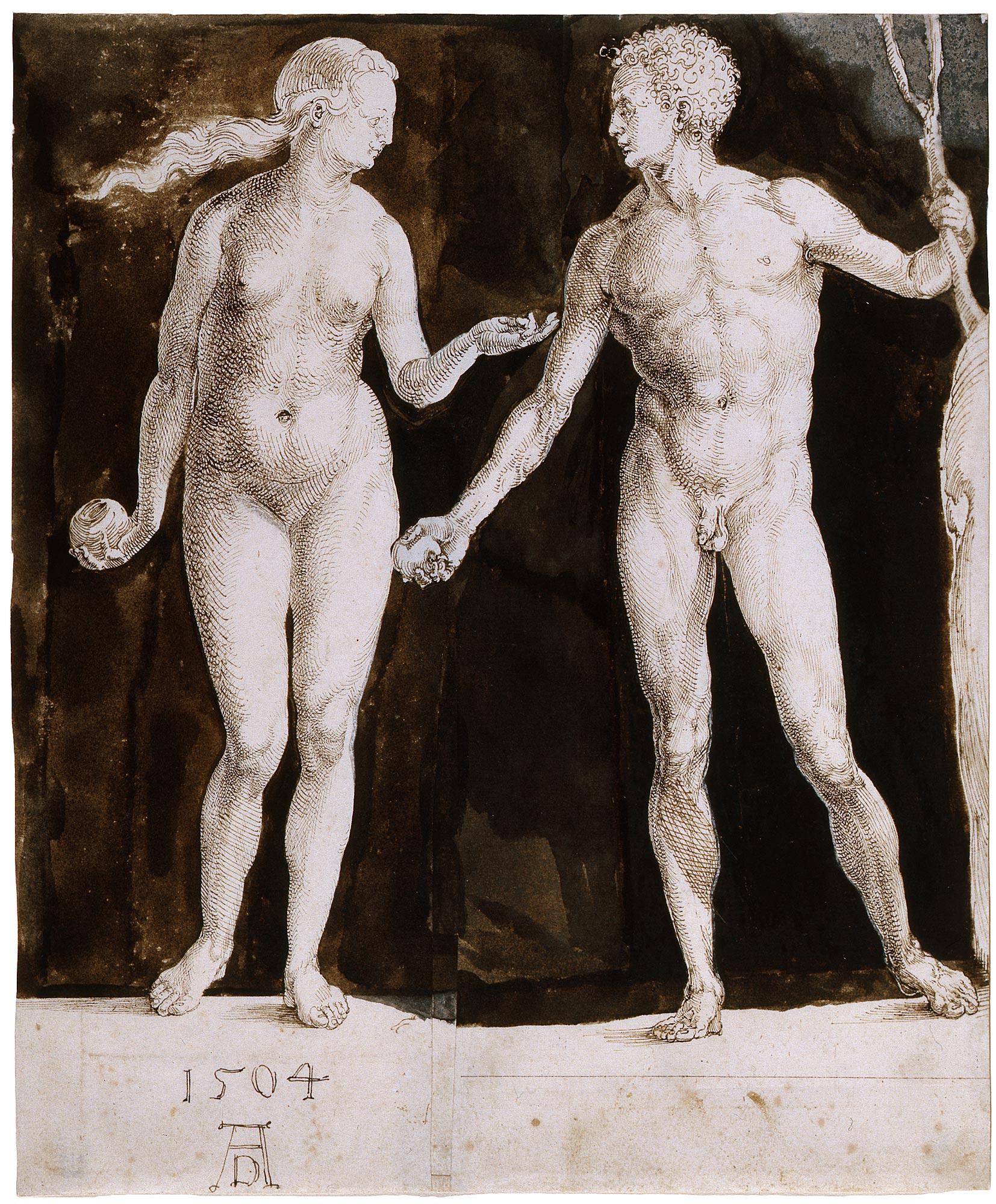 Image of Albrecht Dürer, Adam and Eve