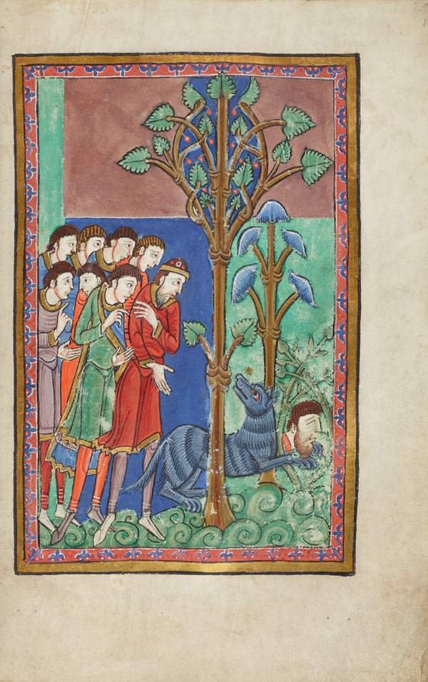 ms fol 16r the life and miracles of st edmund. Black Bedroom Furniture Sets. Home Design Ideas