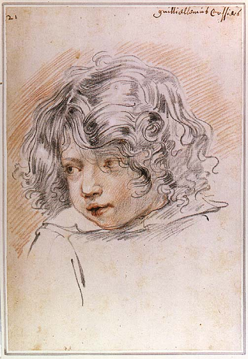Image of Jan Cossiers drawing