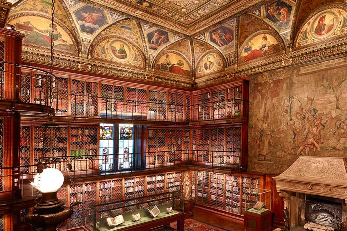 Photogrph of Pierpont Morgan's 1906 Library