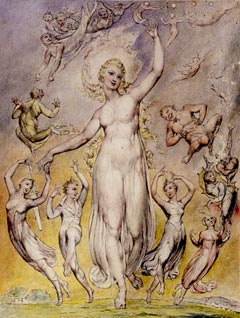 Image of William Blake drawing