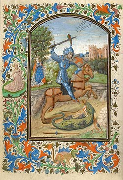 Image of St. George Slaying the Dragon