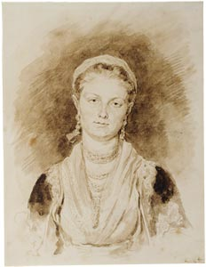 Image of Portrait of a Neapolitan Girl