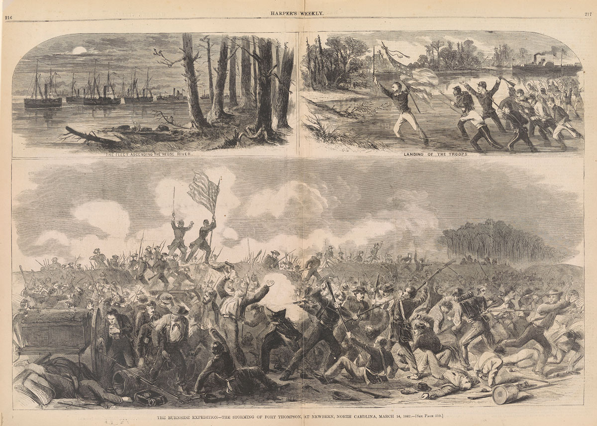 The Burnside Expedition, Haper's Weekly