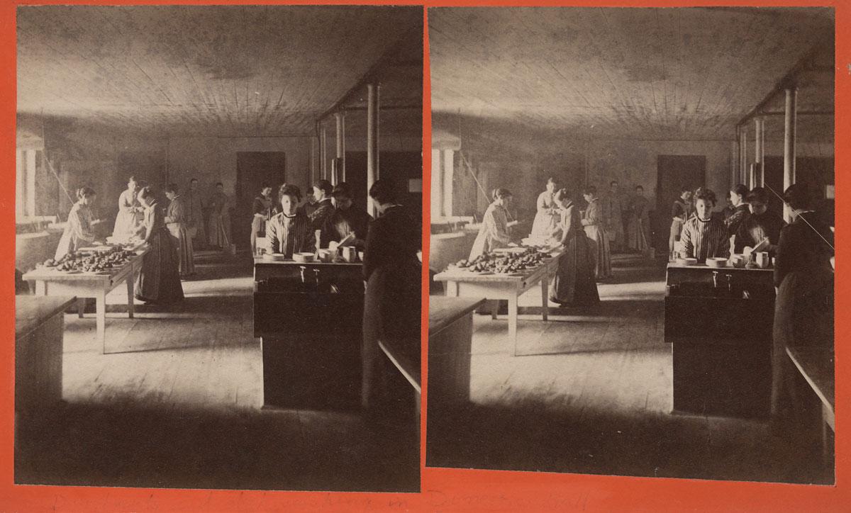 Photo of Mount Holyoke Female Seminary students