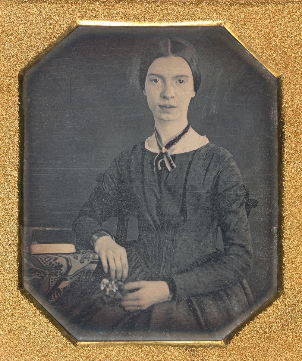 Image of Emily Dickinson, Daguerreotype