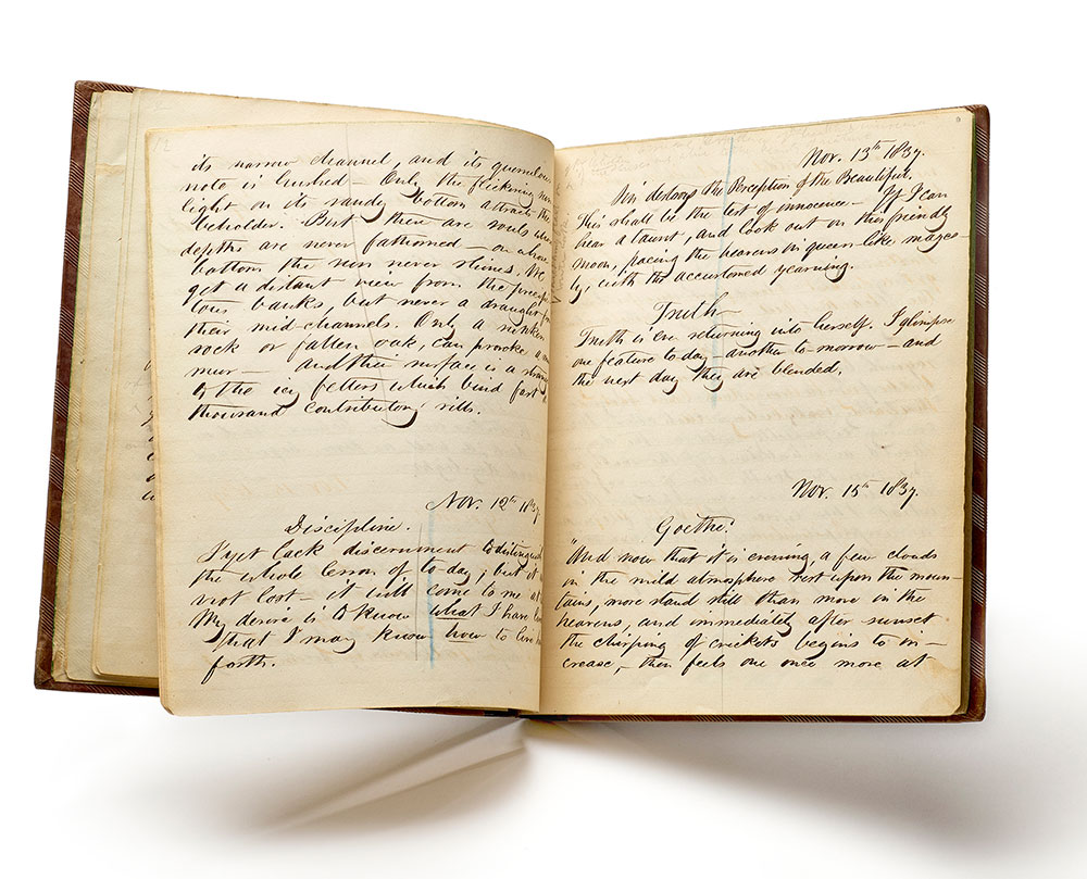 D Printer Exhibition New York : This ever new self thoreau and his journal the morgan