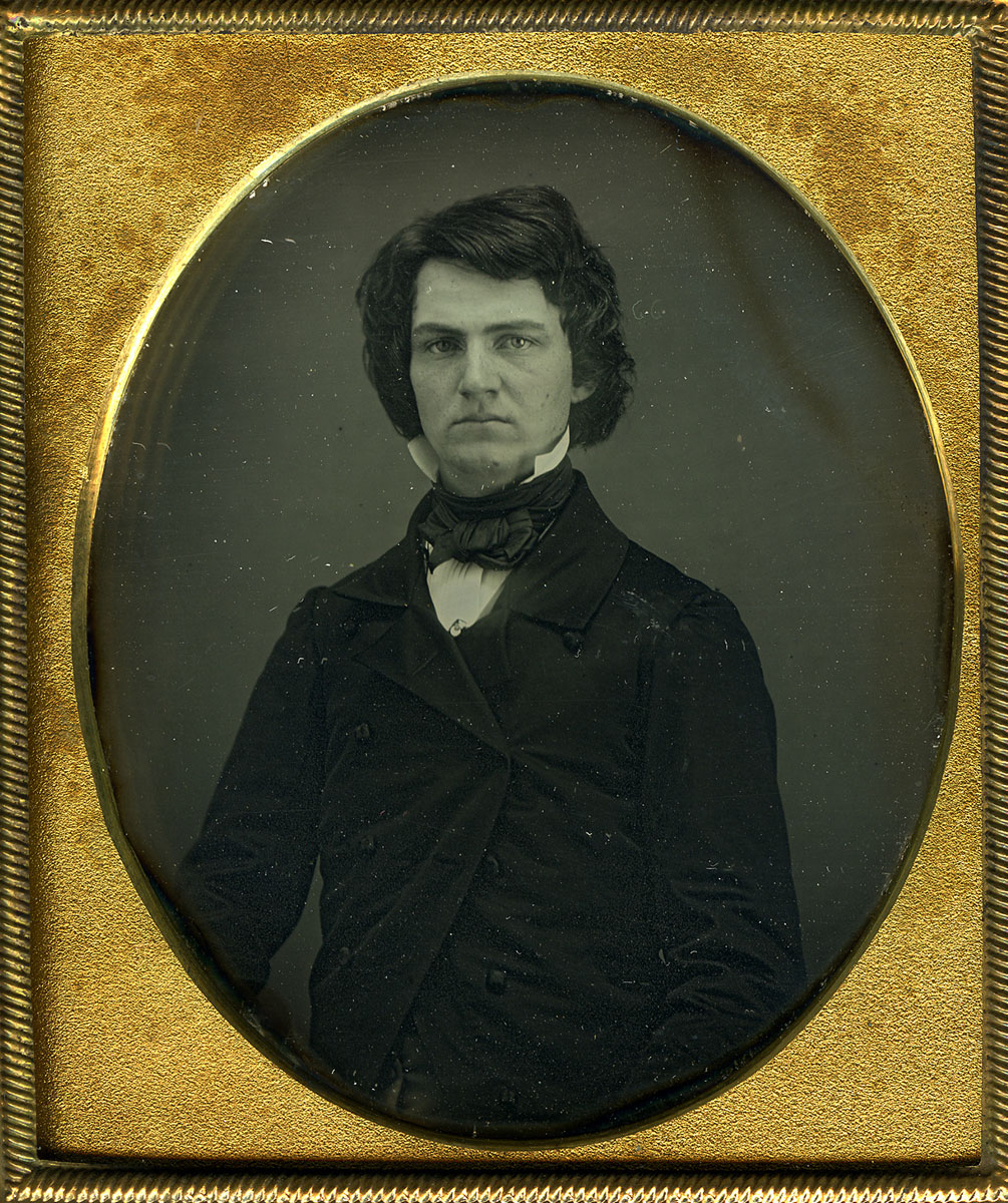 Daguerreotype of William Austin Dickinson