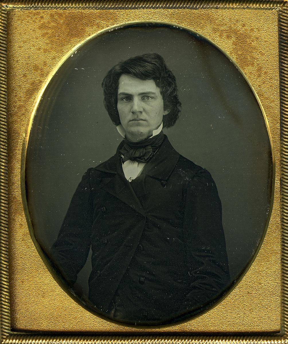 Daguerreotype of William Austin Dickinson