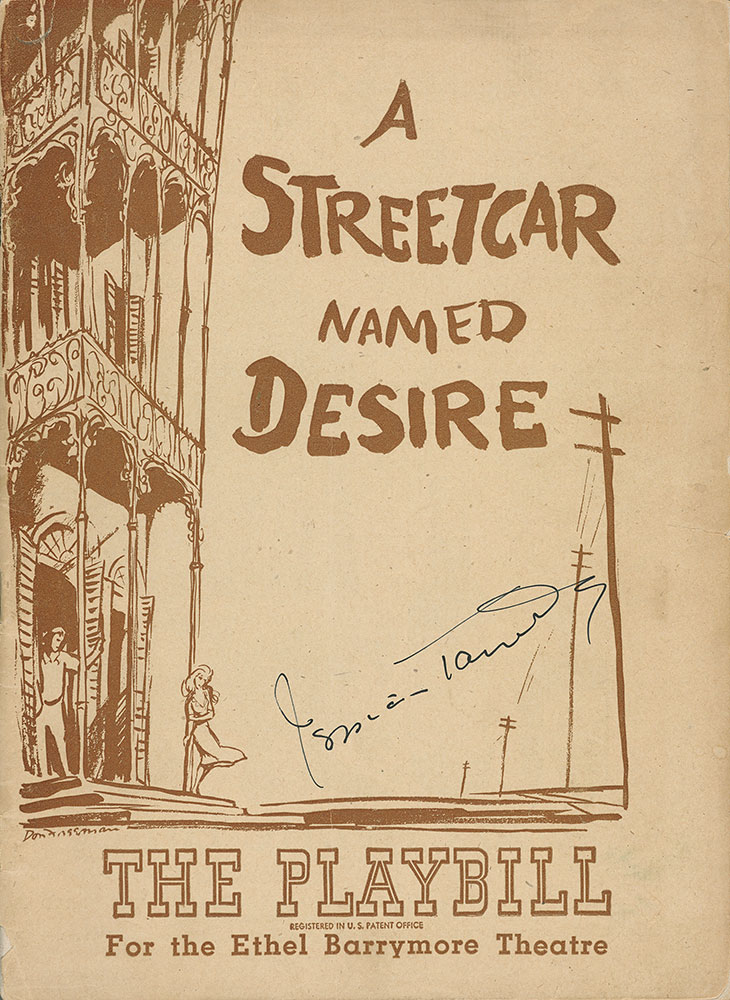 a streetcar named desire tennessee williams He is best known for the glass menagerie, a streetcar named desire, and cat on a hot tin roof he was the son of pioneer tennesseeans, mostly military men and politicians most of the biographical information available on tennessee williams came from williams himself.