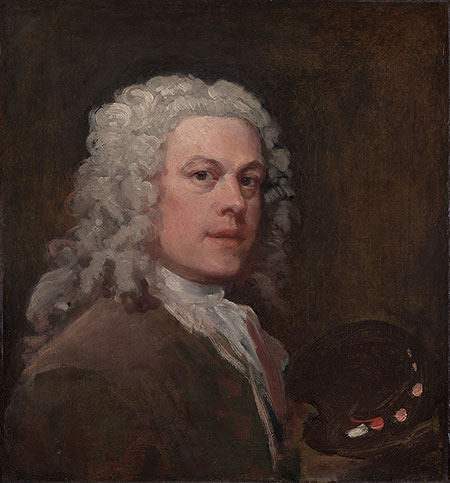 Portrait of Hogarth