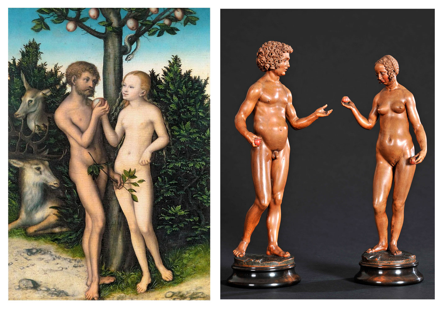 Adam and eve the first fuck 5