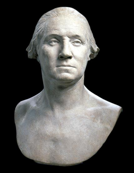 Image of bust of George Washington
