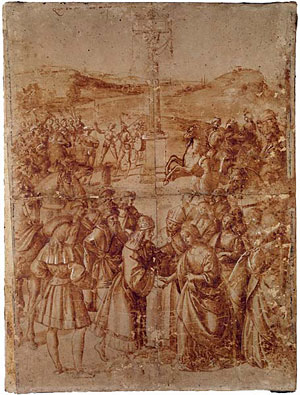 Cardinal Aeneas Sylvius Piccolomini Rome After Raphael