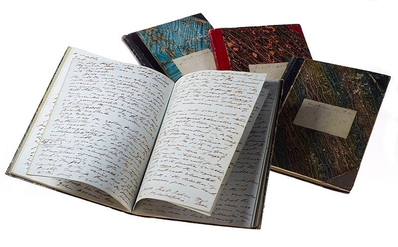 Image of Thoreau journals