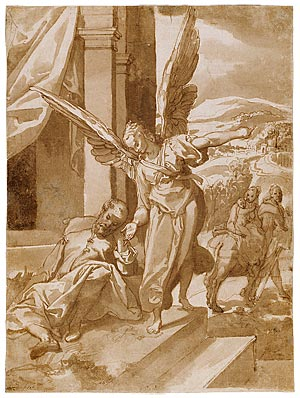Image of The Apparition of the Angel to St. Joseph