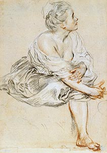 Image of Seated Young Woman