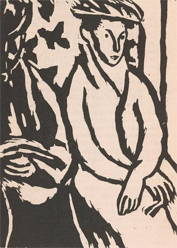 Vanessa Bell (1879-1961) From Monday or Tuesday by Virginia Woolf (Richmond: The Hogarth Press, 1921)