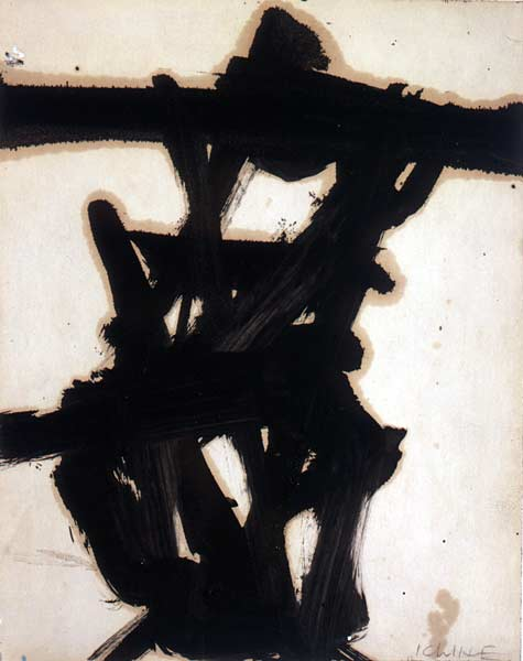 Image of Franz Kline drawing
