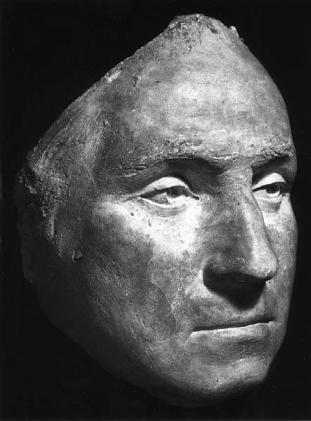 Life Mask of George Washington